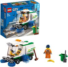 LEGO City Great Vehicles Street Sweeper Truck Toy