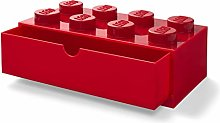 LEGO Desk Drawer Stackable Storage with 8 Knobs,