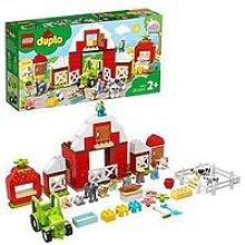 Lego Duplo Town Barn, Tractor &Amp; Farm Animal