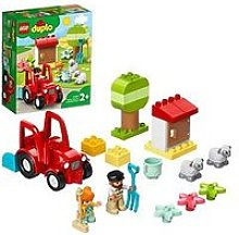 Lego Duplo Town Farm Tractor &Amp; Animal Care Toy