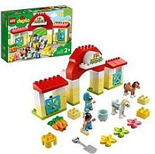 Lego Duplo Town Horse Stable And Pony Care Toy
