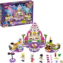 LEGO Friends Baking Competition Set with Toy Cakes