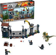 LEGO Jurassic World Dilophosaurus Attack Dinosaur