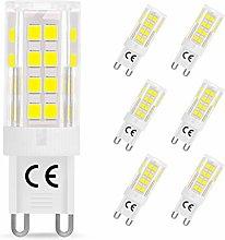 LEHASI G9 LED Bulbs, 5W Equivalent to 40W Halogen