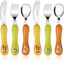 Lehoo Castle Childrens Cutlery Set Stainless