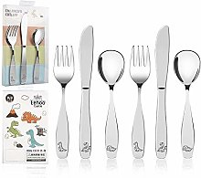 Lehoo Castle Childrens Cutlery Set Stainless
