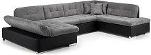 Leia Corner Sofa Bed Brayden Studio Upholstery