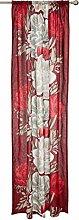 Leiden Curtain 140x250 cm red