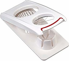 Leifheit Egg cutter Combi in white/red, stainless