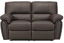 Leighton Leather/Faux Leather 2 Seater Power