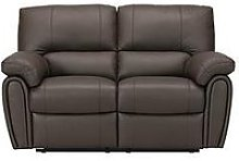Leighton Leather/Faux Leather 2-Seater Recliner