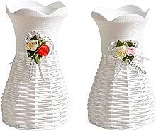 LEILEI Stlei Store 2pcs Room Upholstery Vase Craft