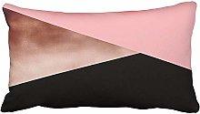 Leisure-Time Pillow Case Elegant Modern Geometric
