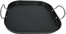 Leisuretime Cast Iron Griddle Pan, Barbecue