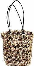 Leisuretime Hand-Woven Hanging Storage Basket