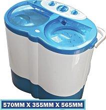 Leisurewize Twin Tub Portable Washing Machine