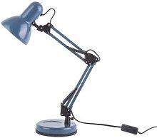 Leitmotiv - Matt Dark Blue Steel Hobby Desk Lamp