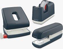 Leitz Cosy Stapler, Tape Dispenser & Hole Punch Set
