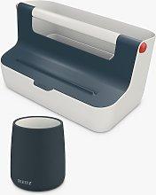 Leitz Cosy Storage Box & Pen Pot Set