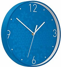 Leitz WOW Quartz Wall Clock, Perfect for Office,