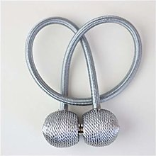 lejia 1Pc Magnetic Curtain Tieback Buckle Strap