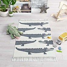 Leka Snap Crocodile Kiddy Children Nursery Rug