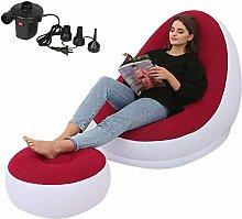 Leking Lounger Air Chair Sofa, Lazy Inflatable
