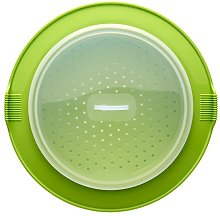 Lékué Silicone Steamer Cooking, Green, 32x32x2.5