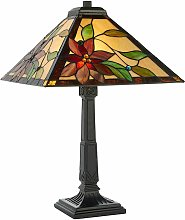 Lelani 60W lamp, glass and resin