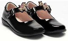Lelli Kelly Bliss Unicorn Dolly School Shoe - Black