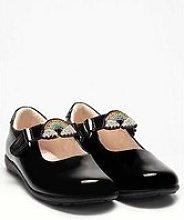 Lelli Kelly Brite Rainbow Dolly School Shoe - Black