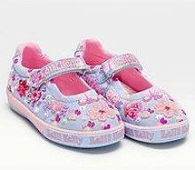 Lelli Kelly Chloe Flower Dolly Shoe - Lilac