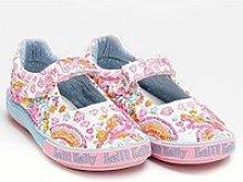 Lelli Kelly Dorothy Unicorn Dolly Shoe - White