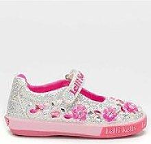 Lelli Kelly Florence Flower Glitter Dolly Shoe -