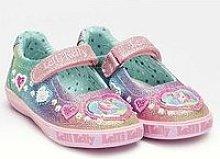 Lelli Kelly Gem Glitter Dolly Unicorn Shoe - Multi