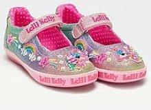 Lelli Kelly Treasure Glitter Dolly Shoe - Multi