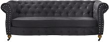 Lemasters 3 Seater Chesterfield Sofa Ophelia & Co.
