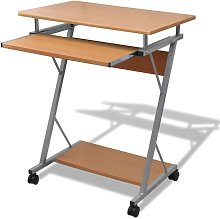 Lemoine Computer Desk by Brown - Ebern Designs