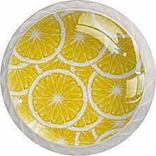 Lemon 4PCS Drawer Knobs,Cabinet Knobs,Drawer Pull