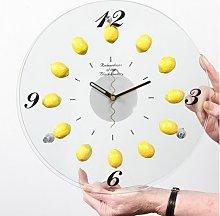 Lemon Fruit - Wall Clock