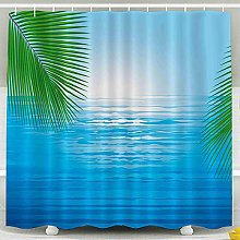 Lemon painting forest shower curtains cheap shower