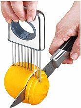 Lemon slicer fruit splitter onion cut stainless