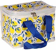 Lemons Design Lunch Box Cool Bag