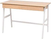 Lemos Desk by Brown - Ebern Designs
