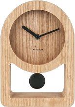 Lena Tabletop Clock Karlsson Colour: Beige