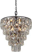 Leni 21-Light Crystal Chandelier Canora Grey