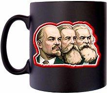 Lenin Engels Marx Communist USSR Russian Image