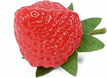 LENVHFKJ 10/20Pcs Artificial Strawberry Artificial