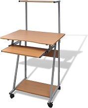 Lenz Computer Desk by Brown - Ebern Designs