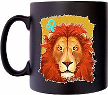 Leo Star Sign Mug Zodiac Birthsign Klassek
